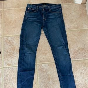 Hudson dark wash denim jeans